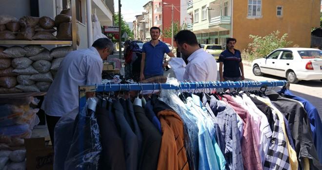Bozkır'da öğrenciler  yararına kermesi açıldı