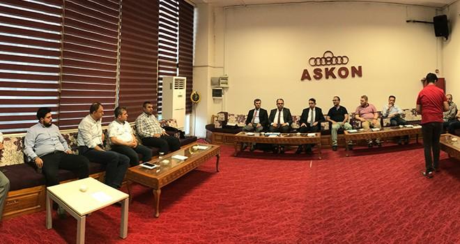ASKON'da yeniden  yapılandırma anlatıldı