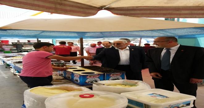 Saadet'li adaylar Kadınhanı'nda