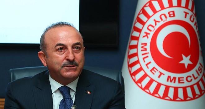 Dışişleri Bakanı Çavuşoğlu TBMM Dışişleri Komisyonuna sunum yaptı