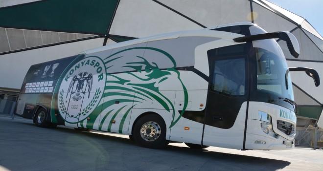 Konyaspor'un takım otobüsü yenilendi