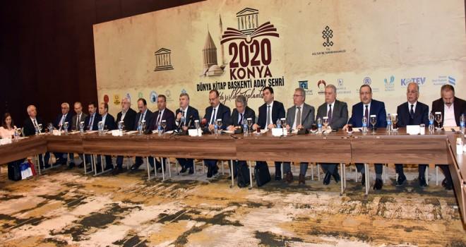 Konya, Dünya Kitap Başkenti aday şehri