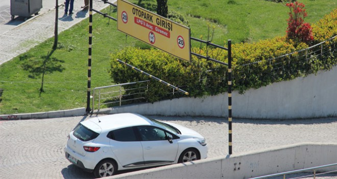 Her otopark, LPG'li araç alamayacak