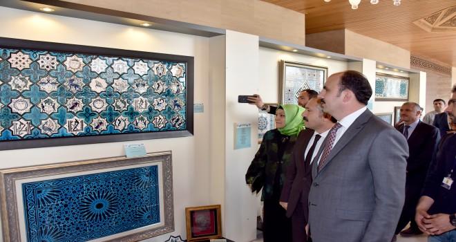 Uluslararası İslam Sanatları Yarışması sonuçlandı