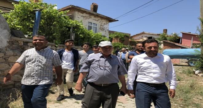 Başkan Oğuz'un  mahalle gezileri