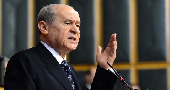MHP Genel Başkanı Bahçeli: Mukaddesatımızın sırtına inmek üzere kaldırılmış hançerdir