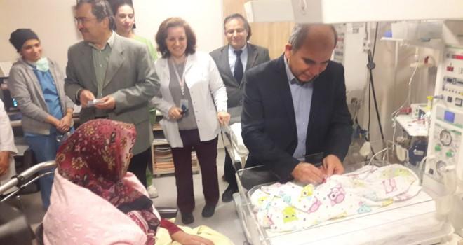 Konya'da yılın ik bebeği
