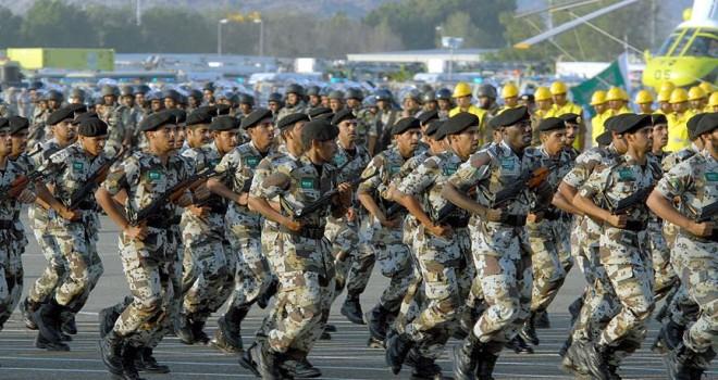 Arabistan'ın askeri harcamaları arttı