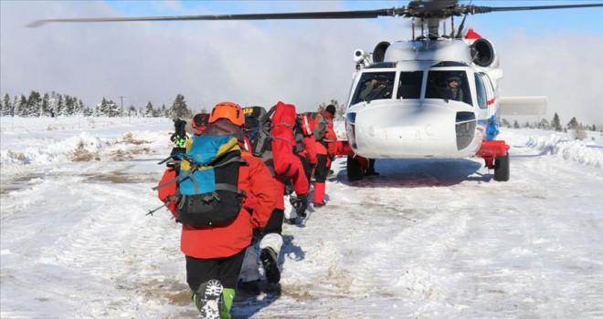 Uludağ'da kaybolan dağcılar için umudumuzu yitirmedik
