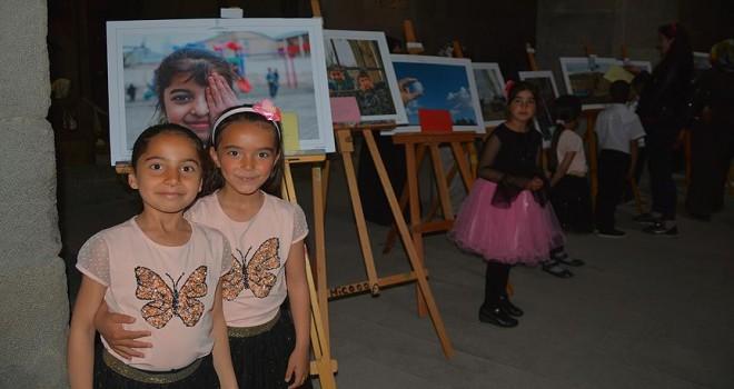 Köy çocukları 'Anadolu' hayatını fotoğrafladı