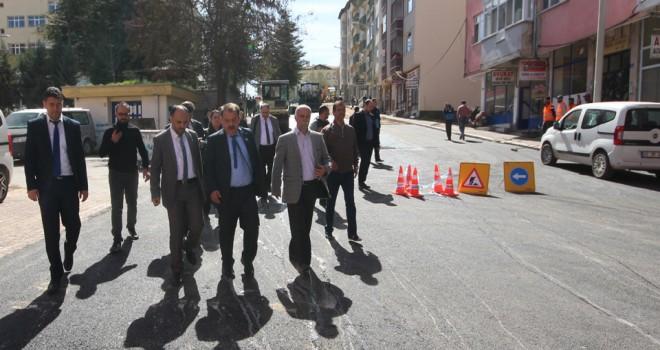 Beyşehir'de esnaf ziyareti