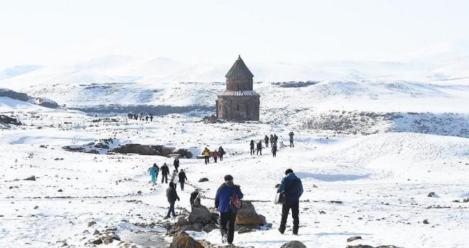 'Medeniyetler Beşiği Ani'ye turist ilgisi