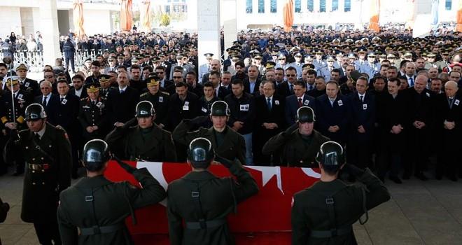 Şehit Hava Pilot Üsteğmen Gökdoğan, son yolculuğuna uğurlandı