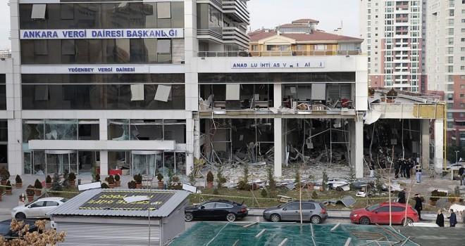 Vergi dairesindeki patlamada 11 özel güvenlik görevlisi kusurlu bulundu