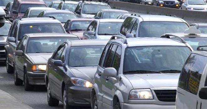 Konya'da taşıt sayısı 11 bin 800 adet arttı