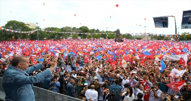AK Parti'nin Konya mitingi