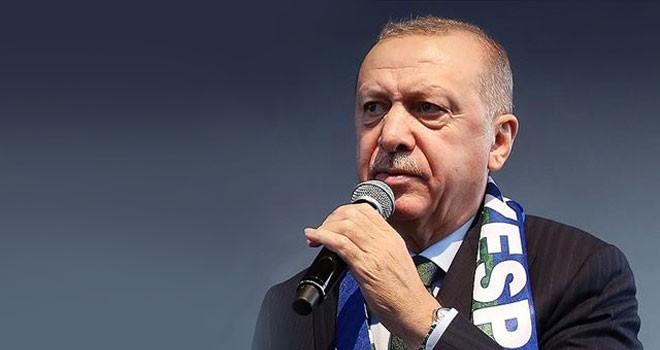 Erdoğan: 9 günde 1500 kilometrekarelik alanı örgütün zulmünden kurtardık