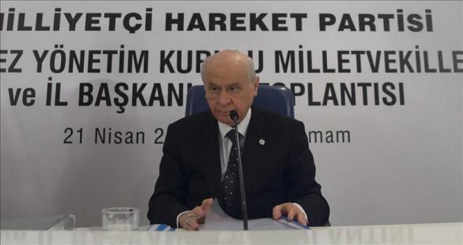 MHP mensuplarından hiçbir tanesi aday olarak çıkmamıştır