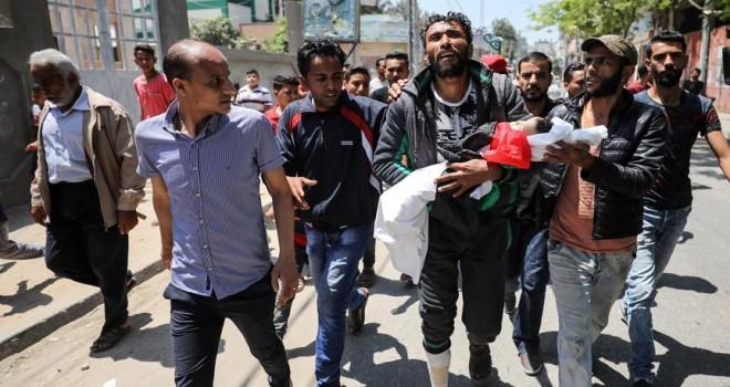 Gazze katliamının en küçük şehidi
