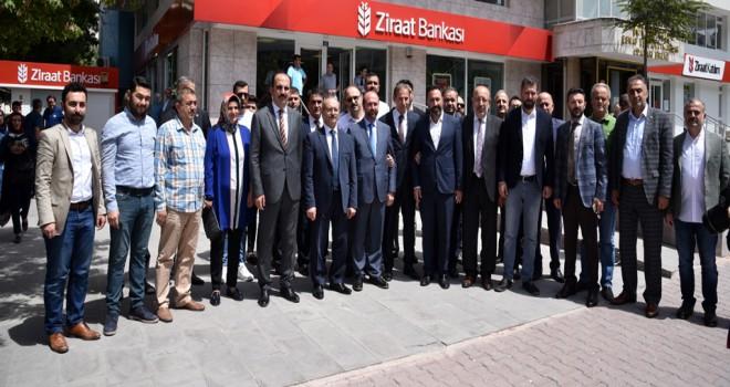 AK Parti Selçuklu'dankampanyaya destek