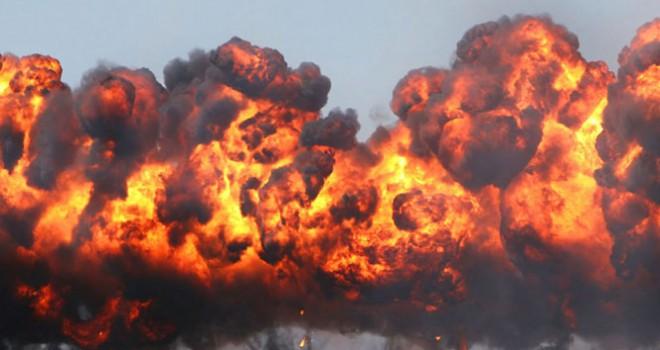 Afganistan'da korkunç patlama