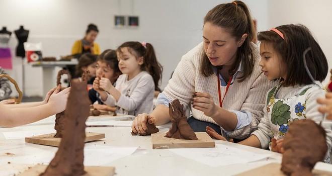 İstanbul Modern'de çocuklara özel atölye