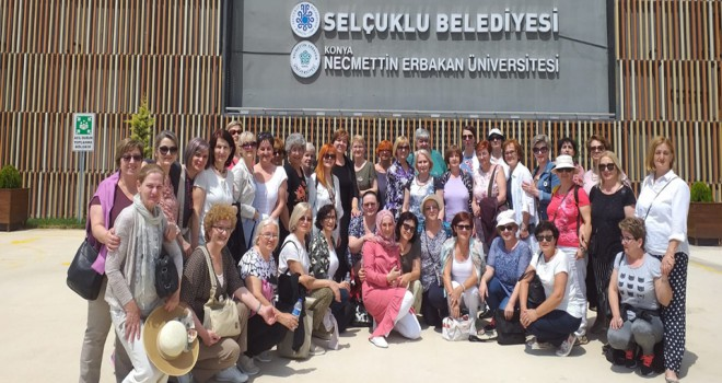 Bosnalı Heyet'ten Selçuklu'ya ziyaret