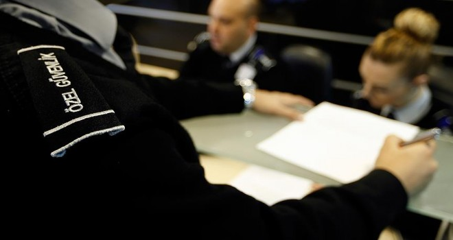 Özel güvenlik sayısı polisi geçti