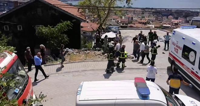 Jandarma ekibi kaza yaptı: çok sayıda yaralı var