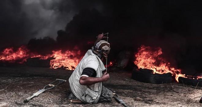 'Büyük Dönüş Yürüyüşü'nde 30 Filistinli şehit oldu