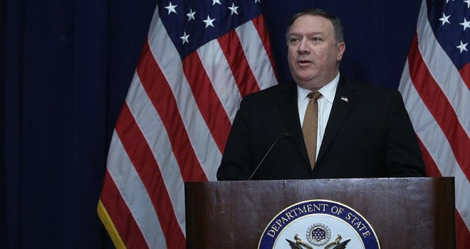 Pompeo'dan İran açıklaması