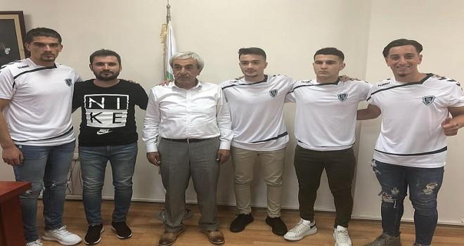 Anadolu Selçukspor'a 4 gurbetçi oyuncu