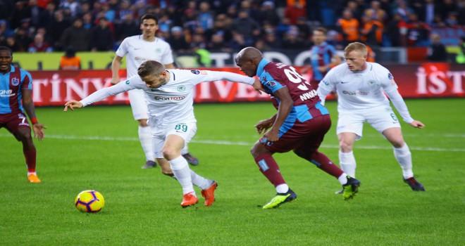 Trabzonspor: 3 - Atiker Konyaspor: 0
