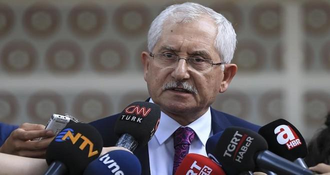 YSK Başkanı Güven kesin seçim sonuçlarını açıkladı