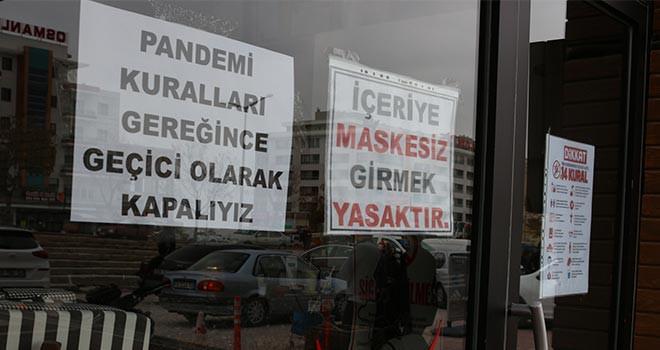 Konya'da yeni Kovid-19 tedbirleri hayata geçirildi