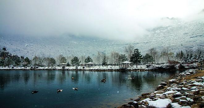 Küpe Dağı'nda  beyaz güzellik