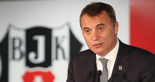 Beşiktaş'ta Fikret Orman adaylık dilekçesini sundu