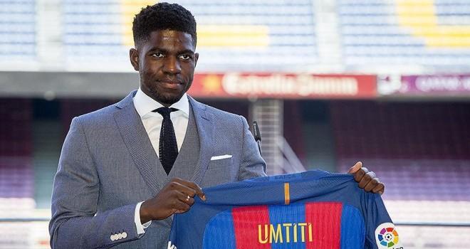 Umtiti 2023'e kadar Barcelona'da
