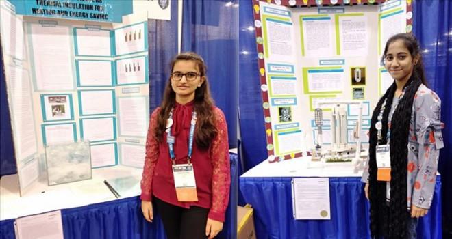 Türk okulunun kız öğrencileri bilim yarışmasında