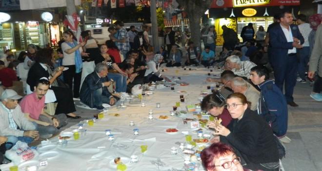 CHP'den, yeryüzü sofrasında iftar
