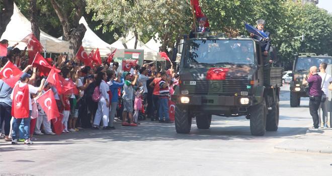 Konya'da Zafer coşkusu