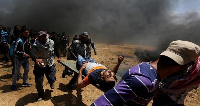 İsrail'in katliamları ilgili dosya UCM'ye teslim edildi