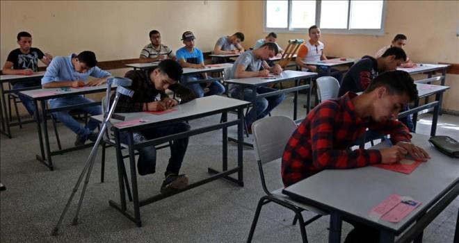 Filistinli öğrenciler  eğitim mücadelesi veriyor