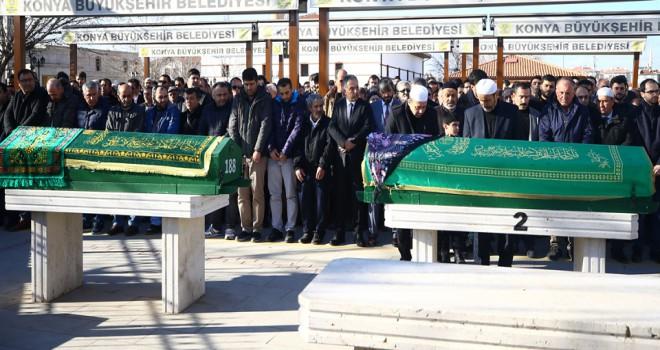 Doktor çiftin cenazeleri toprağa verildi