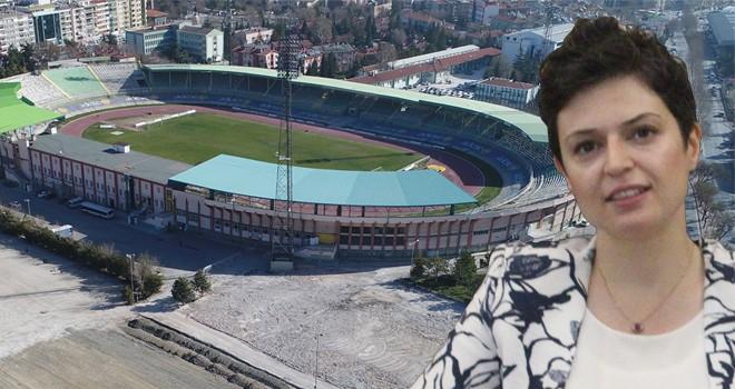 Eski stadyum alanına  Spor Tematik Parkı talebi