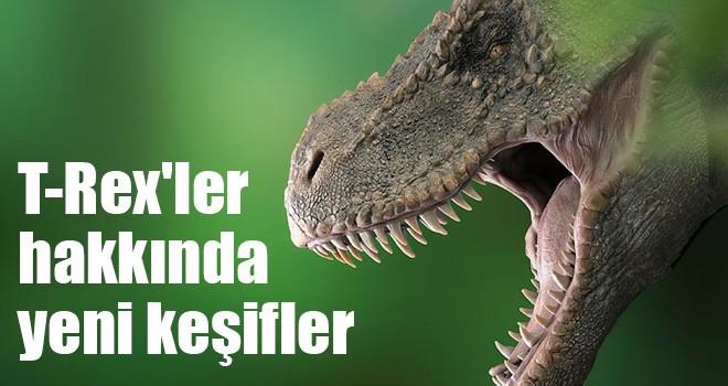 T-Rex'ler hakkında yeni keşifler