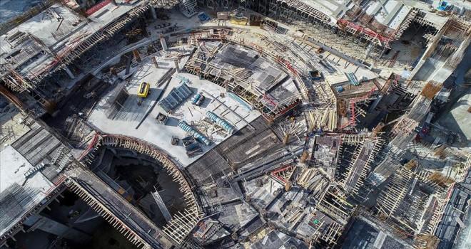 Yeni AKM'nin kaba inşaatının yüzde 60'ı tamamlandı