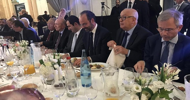 Fransa Başbakanı Philippe Fransa İslam Konseyi'nin iftarına katıldı