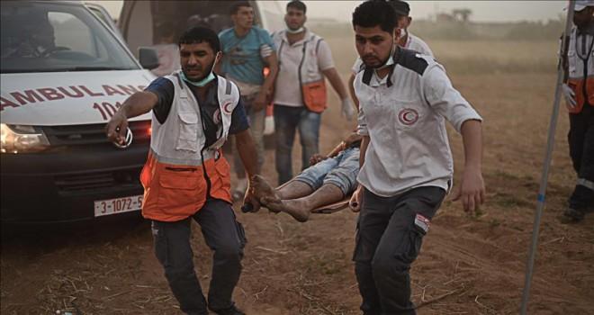 İsrail askerleri Gazze'de 3 Filistinliyi yaraladı