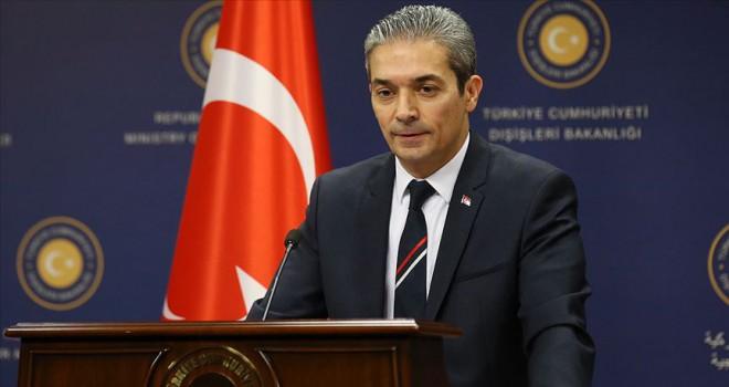Aksoy: ABD tarafını yanlış adımlardan kaçınmaya davet ediyoruz